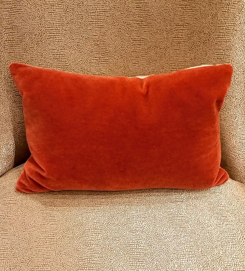 Room and board mohair linen pillow modele 39 s home for Room and board pillows
