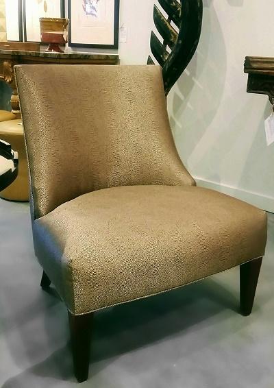 Slipper Chair From Trammel Gagnet Showroom from Seattle